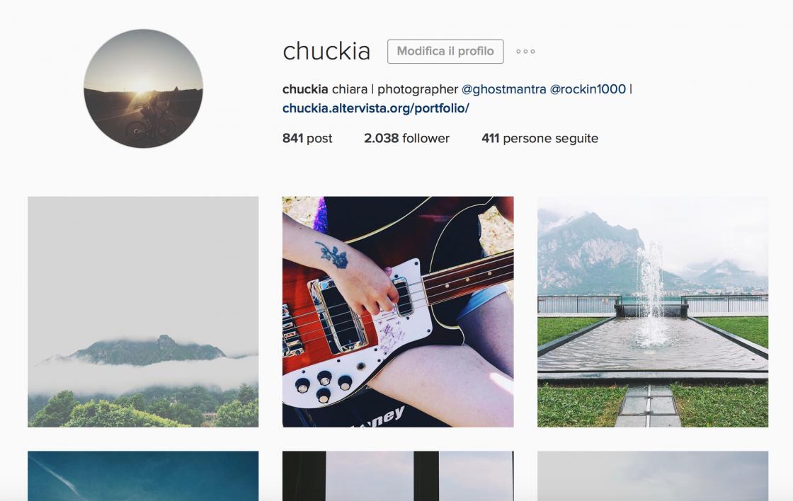 Instagram Chuckia