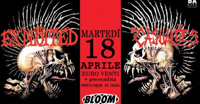 The Exploited + The Casualties, Bloom Mezzago