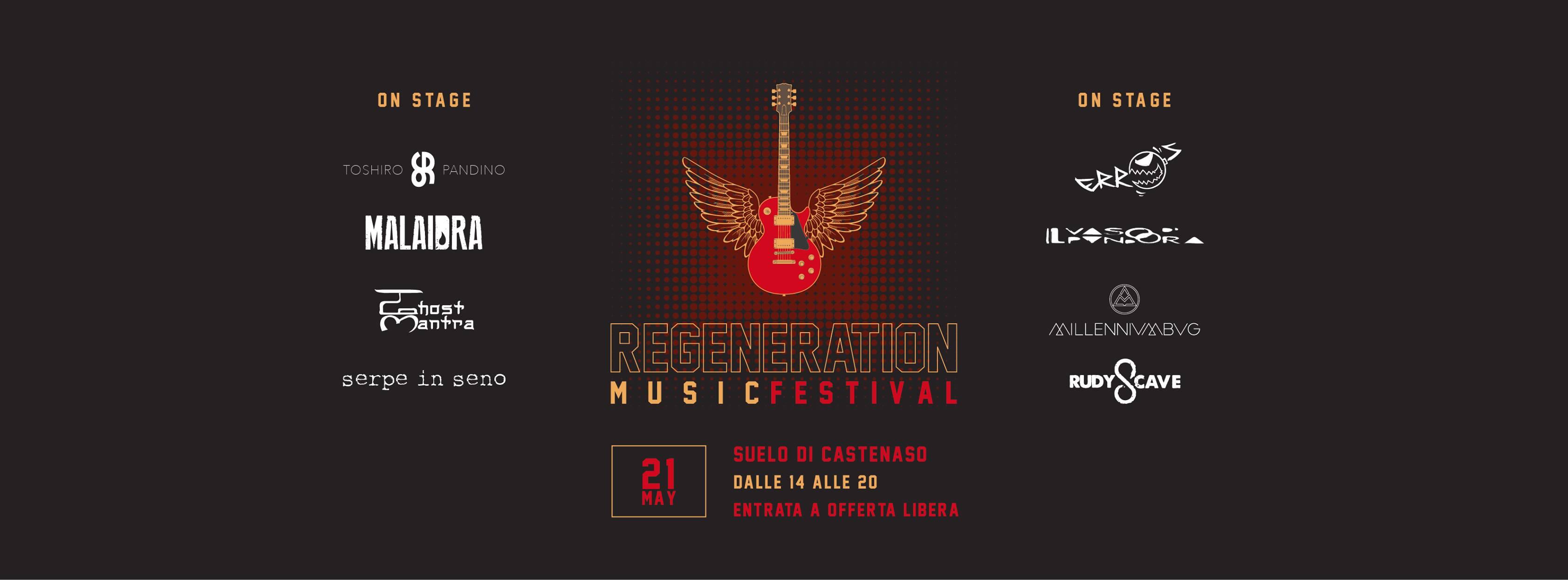 Regeneration Festival, Castenaso (BO)