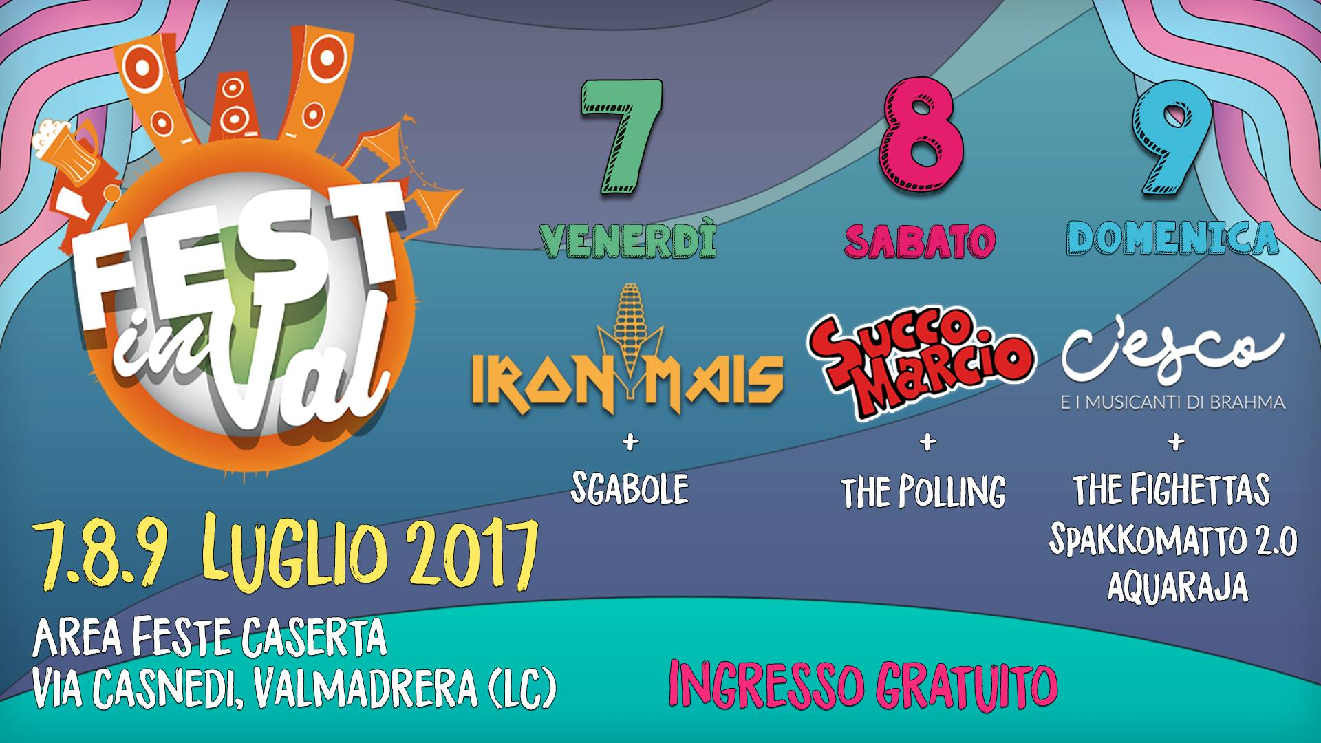 C'esco e i musicanti di Brahma - Fest in Val 2017