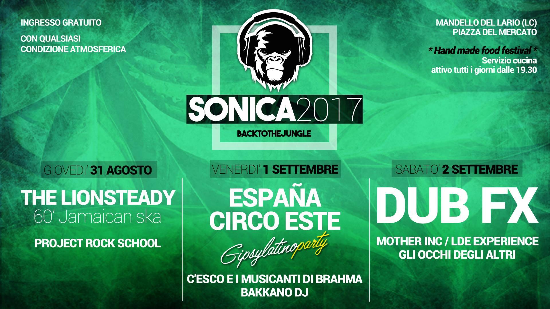 Sonica 2017