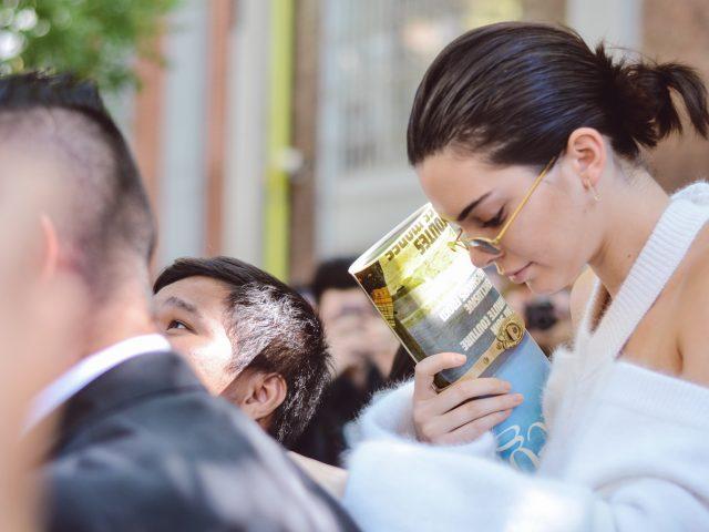 Kendall Jenner Fendi S/S 18 - Milano Fashion Week, chuckia